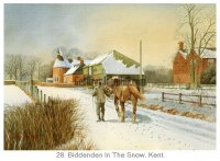Biddenden In The Snow