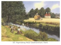 Godmersham - Haymaking