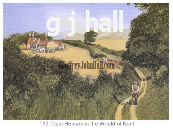 Weald of Kent Oast Houses - Click Image to Close