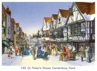 St Peters Street Canterbury