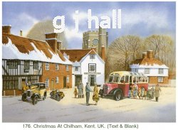 Christmas Card - Chilham